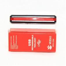 Мигалка задня  USB габаритне світло L-66